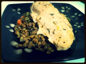 Lentils and Veggies 5