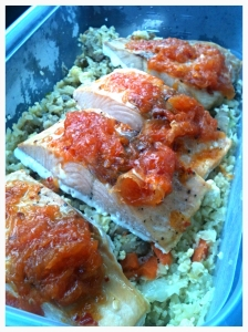 Salmon with Grapefruit Relish 10