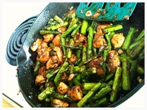 Chicken Asparagus Stir Fry 5